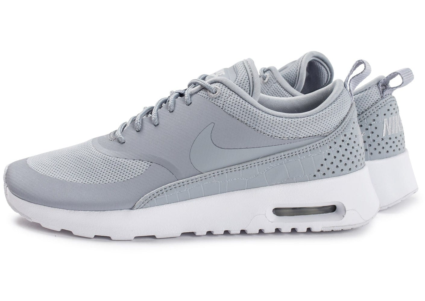 Nike Air Max Thea W grise - Chaussures Baskets femme - Chausport