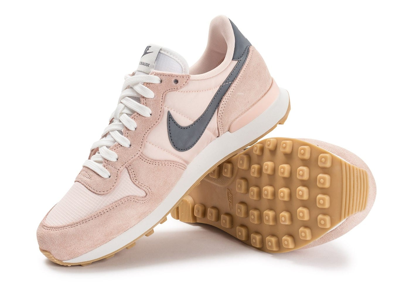 wholesale dealer c7fc4 c0081 ... Chaussures Nike Internationalist W rose pâle vue avant ...
