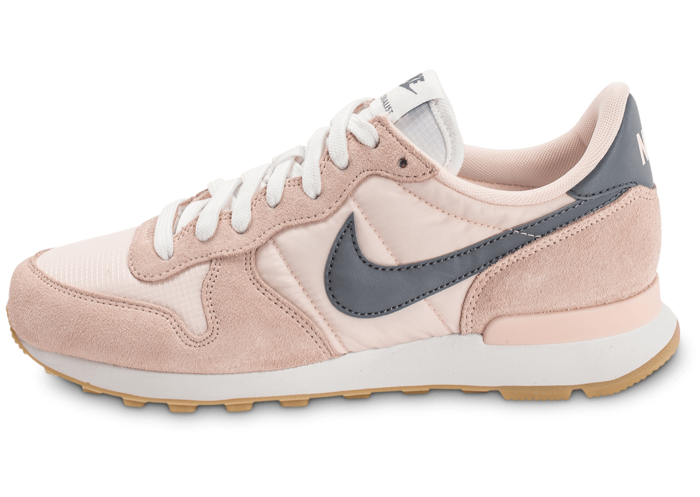 size 40 77d8f 4d64f Nike Internationalist W rose pâle - Chaussures Baskets femme - Chausport
