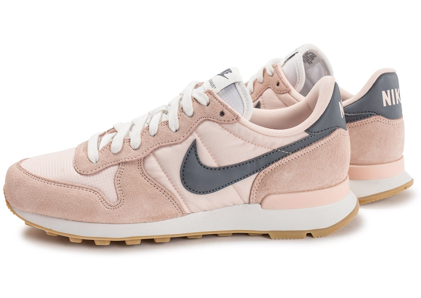 nike internationalist femme w rose pale