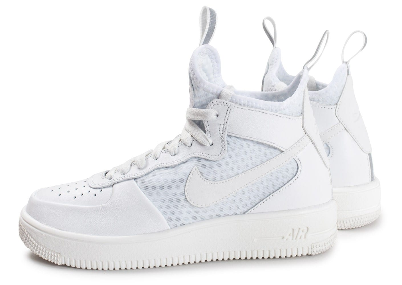 Nike Air Force 1 UltraForce Mid blanche Chaussures Baskets