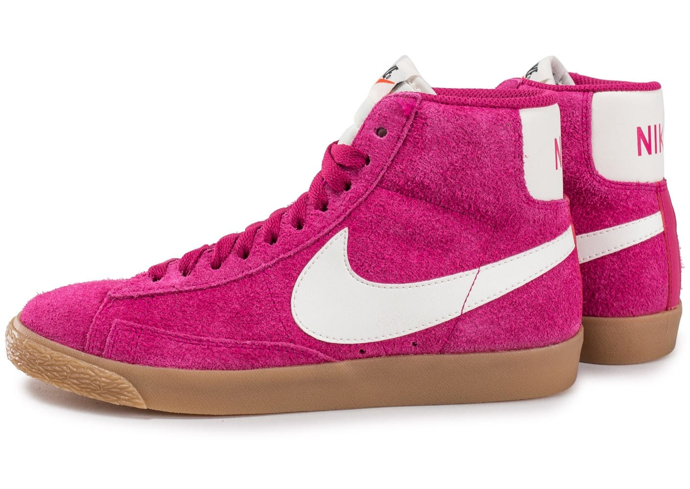 the cheapest the cheapest exclusive deals Nike Blazer Mid W Vintage Sport Fuchsia - Chaussures Baskets ...