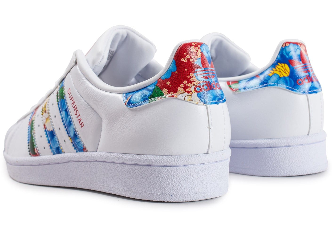 adidas Superstar W Multicolor Chaussures adidas Chausport