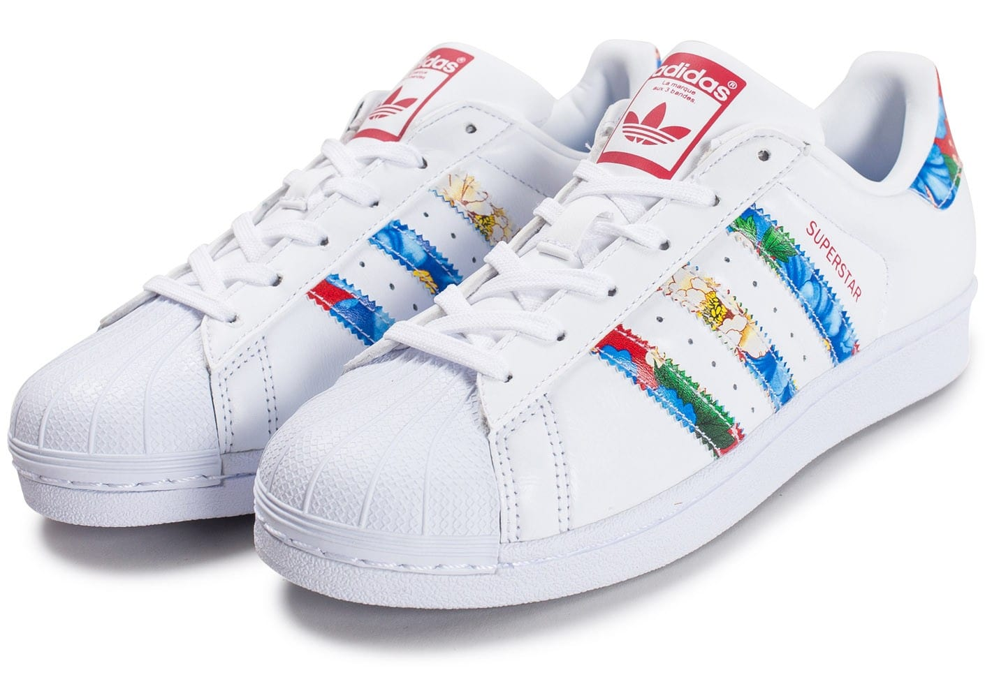 adidas superstars multicolore