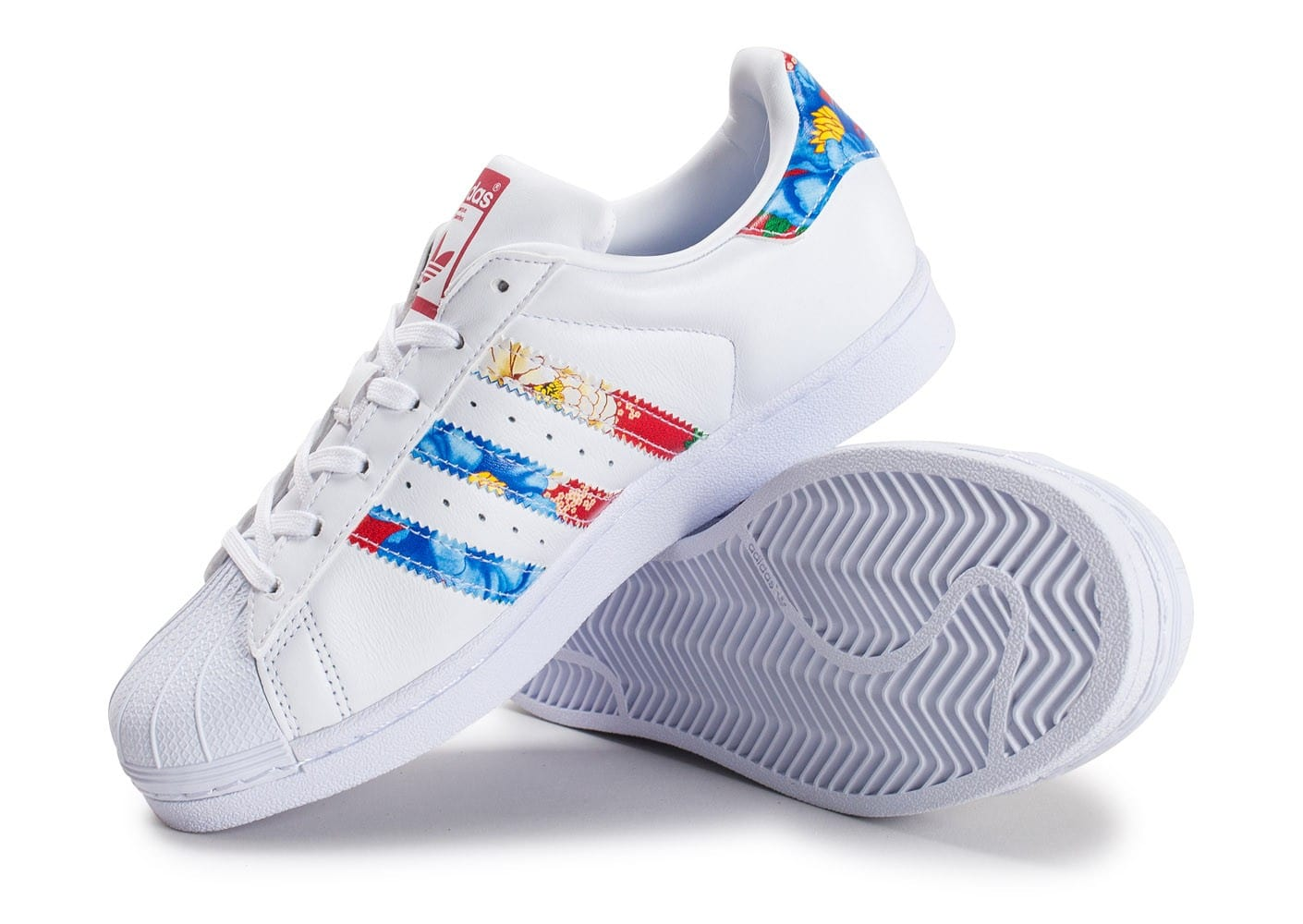 ... Chaussures adidas Superstar W Multicolor vue avant ...
