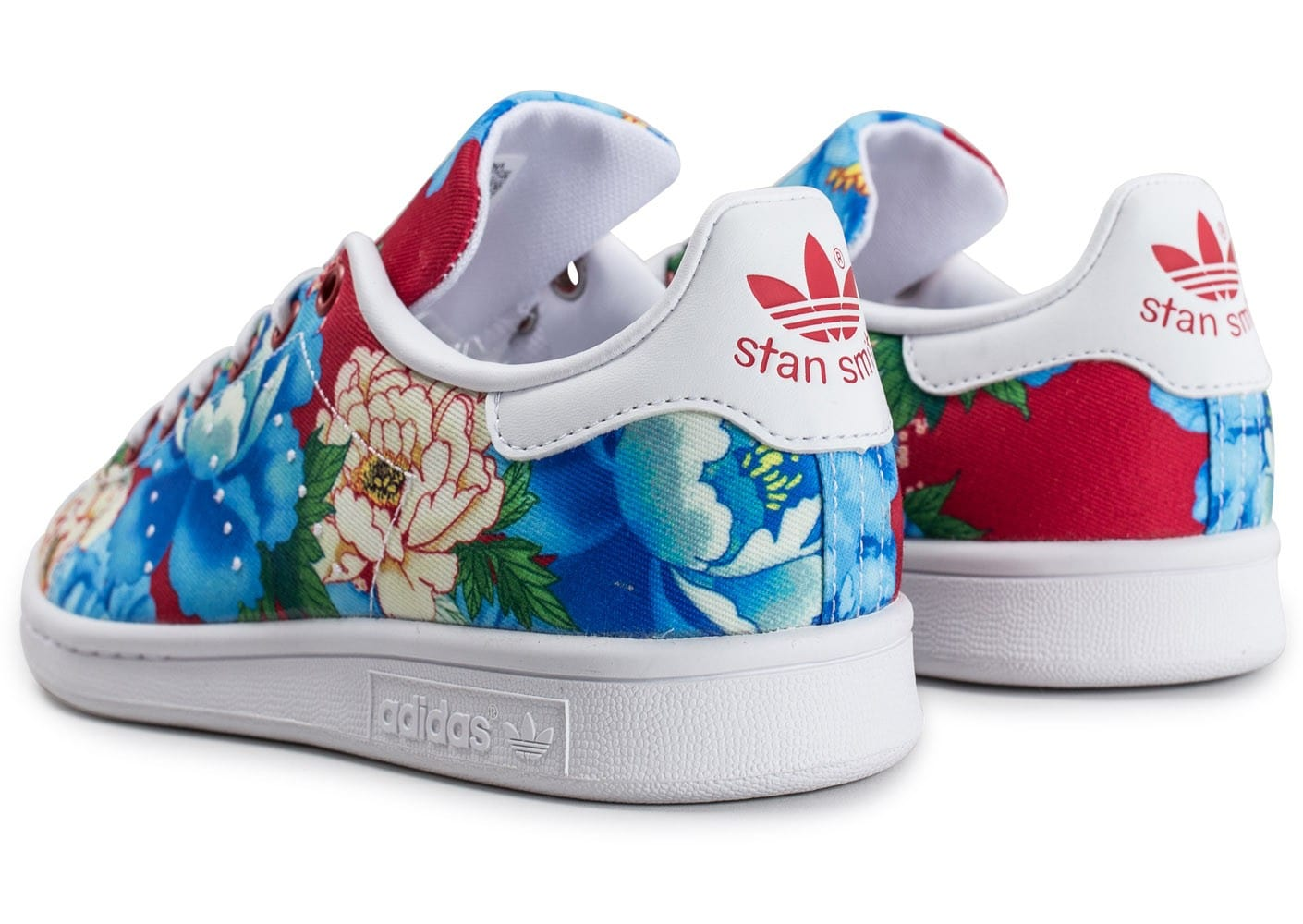 ... Chaussures adidas Stan Smith W The Farm Company vue dessous ...
