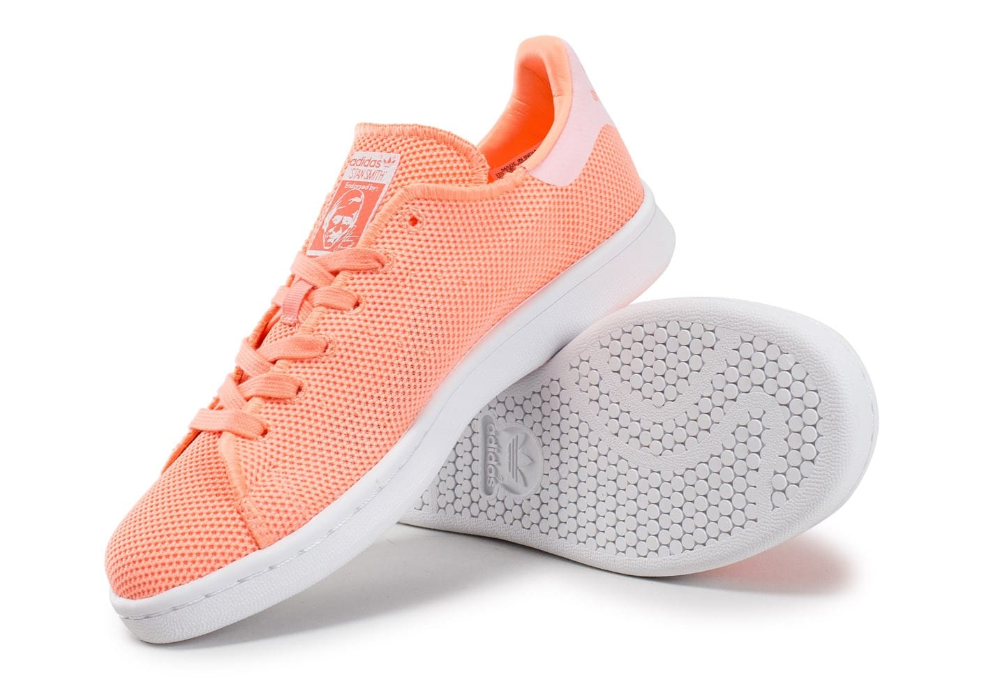 meet 91cf1 80559 Mesh Chausport Stan glow W Smith adidas adidas Chaussures su