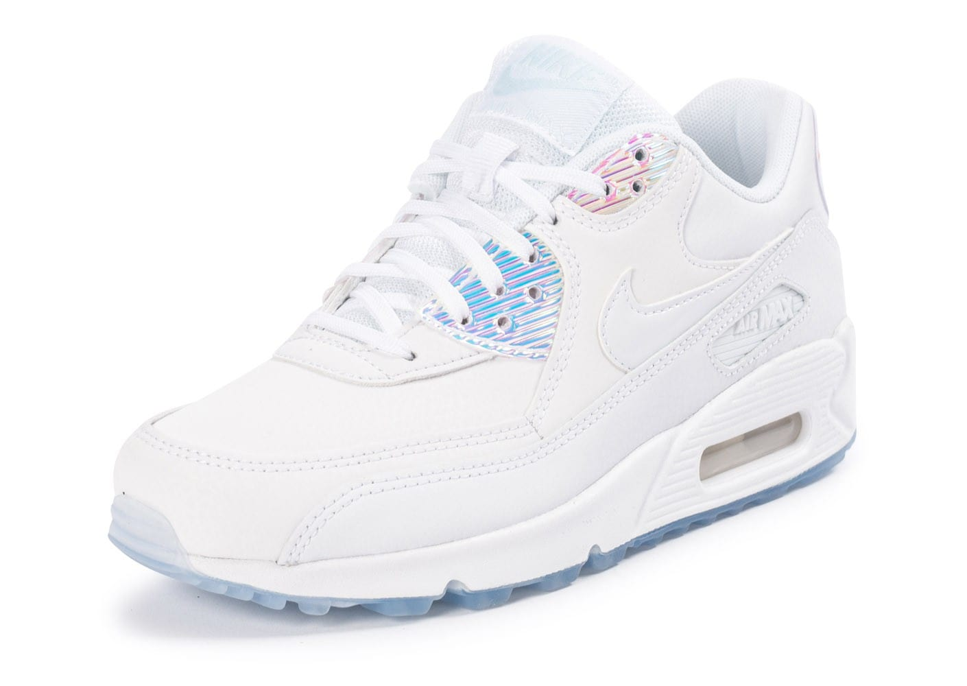 plus récent 396b4 60b5a nike air max 90 iridescent femme