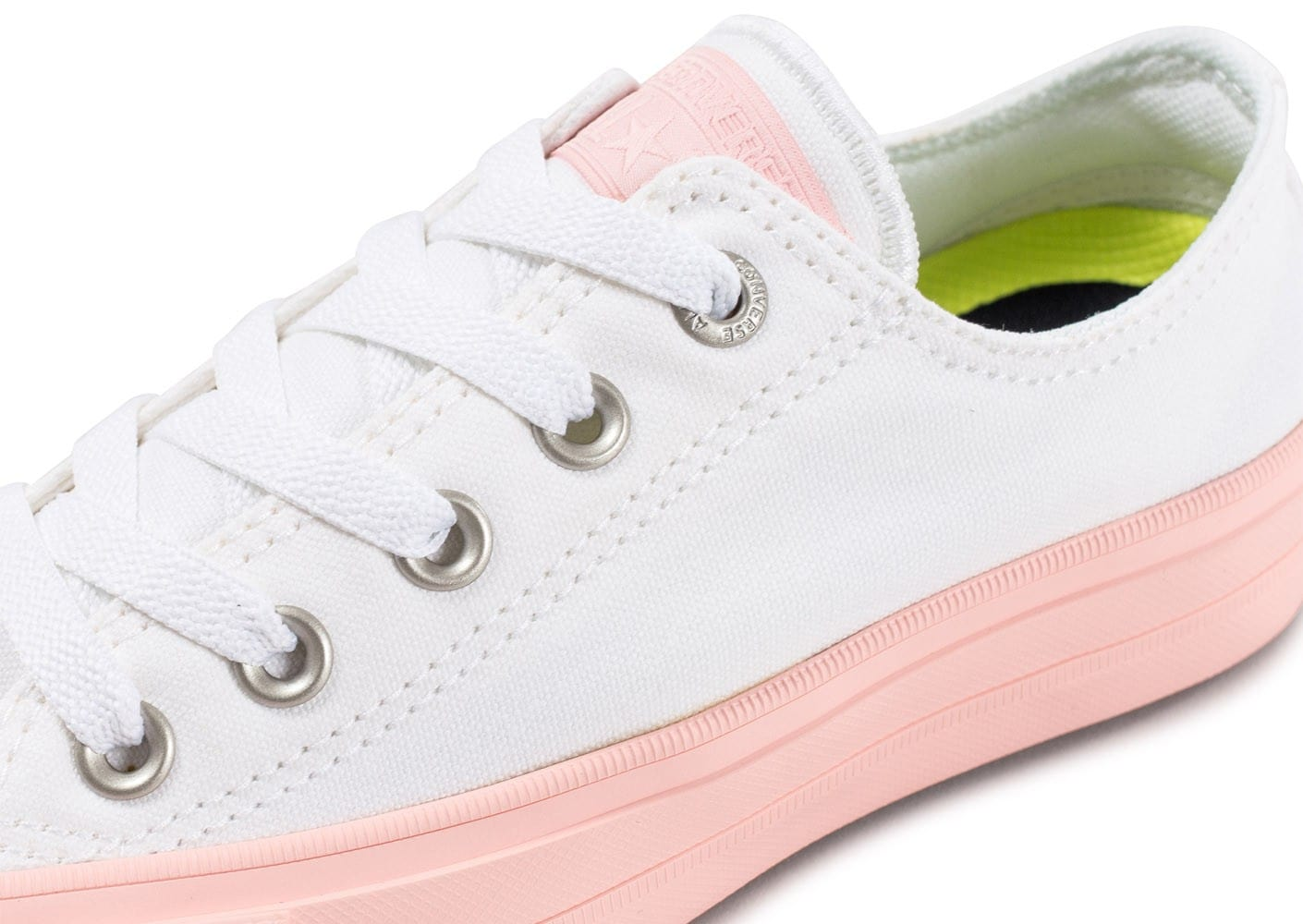 Converse Chuck Taylor All Star 2 OX W blanche et rose