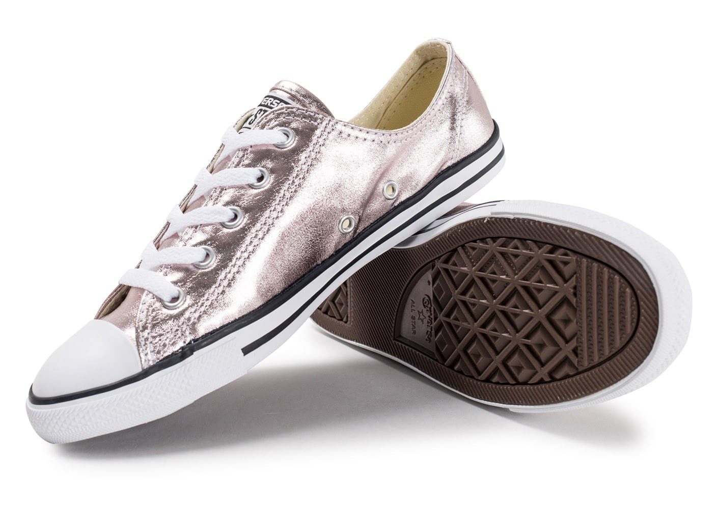 Converse Chuck Taylor All Star Dainty OX Metallic rose ...