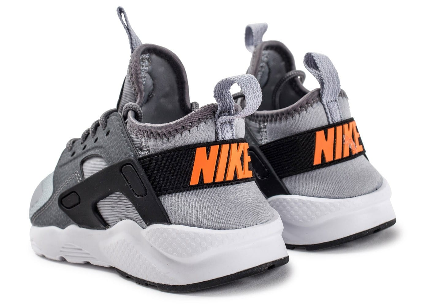 wholesale price the latest top brands Nike Huarache Ultra enfant grise et orange - Chaussures ...