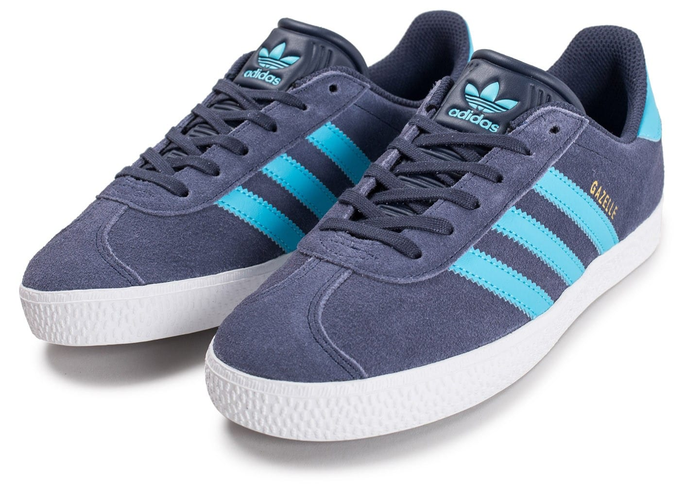 adidas gazelle junior bleu