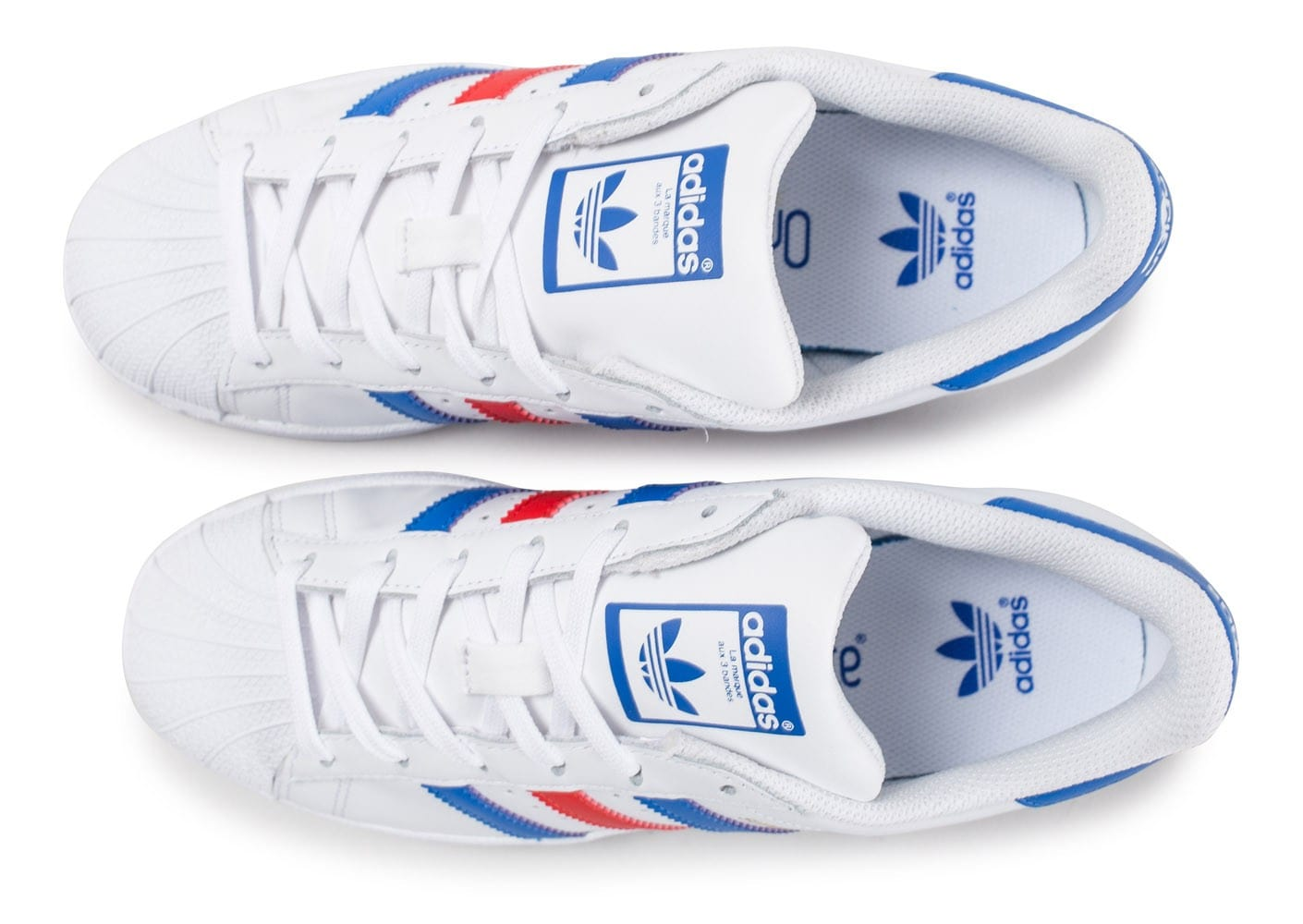 bleu Superstar Junior adidas adidas Chaussures rouge Chausport blanc qE8xCxwa
