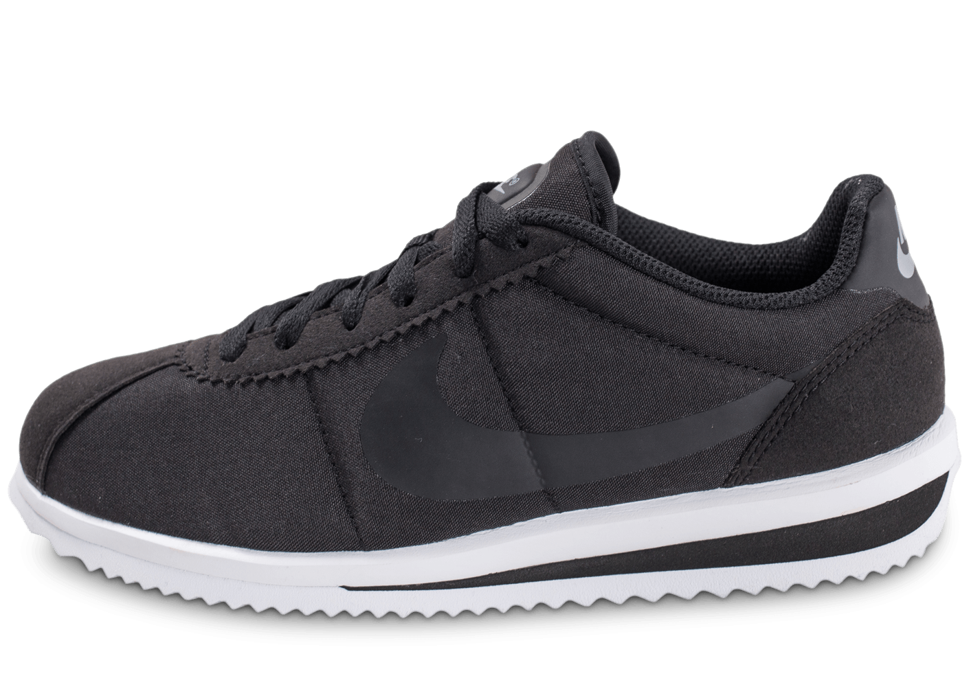 nike cortez ultra junior noire chaussures enfant chausport. Black Bedroom Furniture Sets. Home Design Ideas