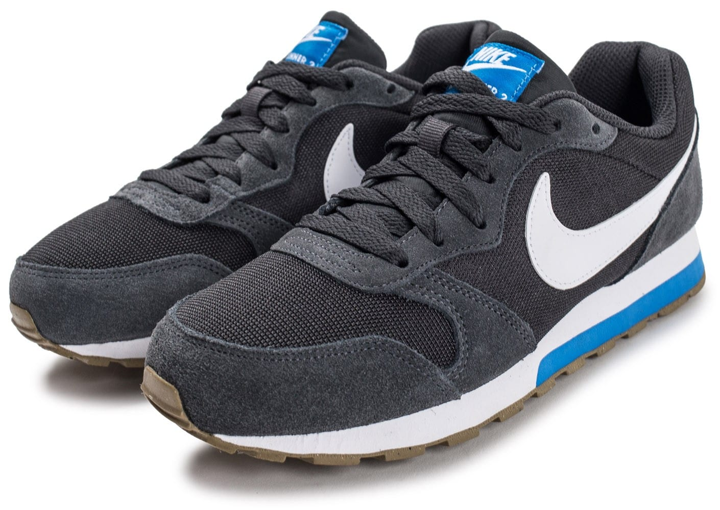 ... Chaussures Nike MD Runner 2 junior grise vue intérieure ... 1f3c8aa4bd52