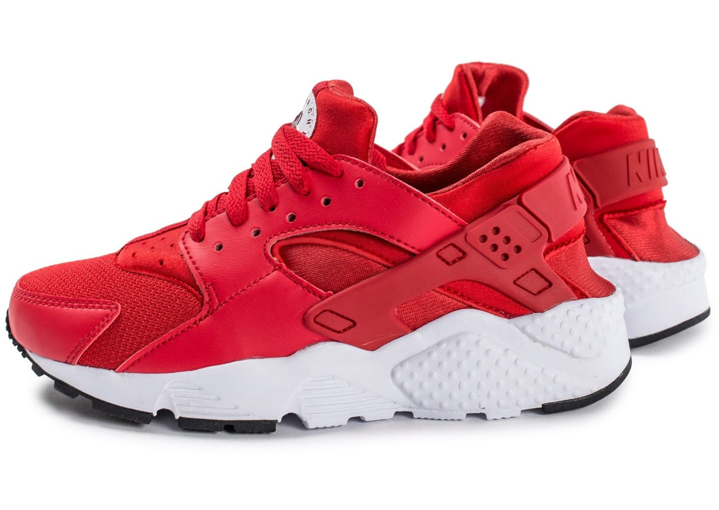 Nike Huarache Run Junior rouge - Chaussures Enfant - Chausport