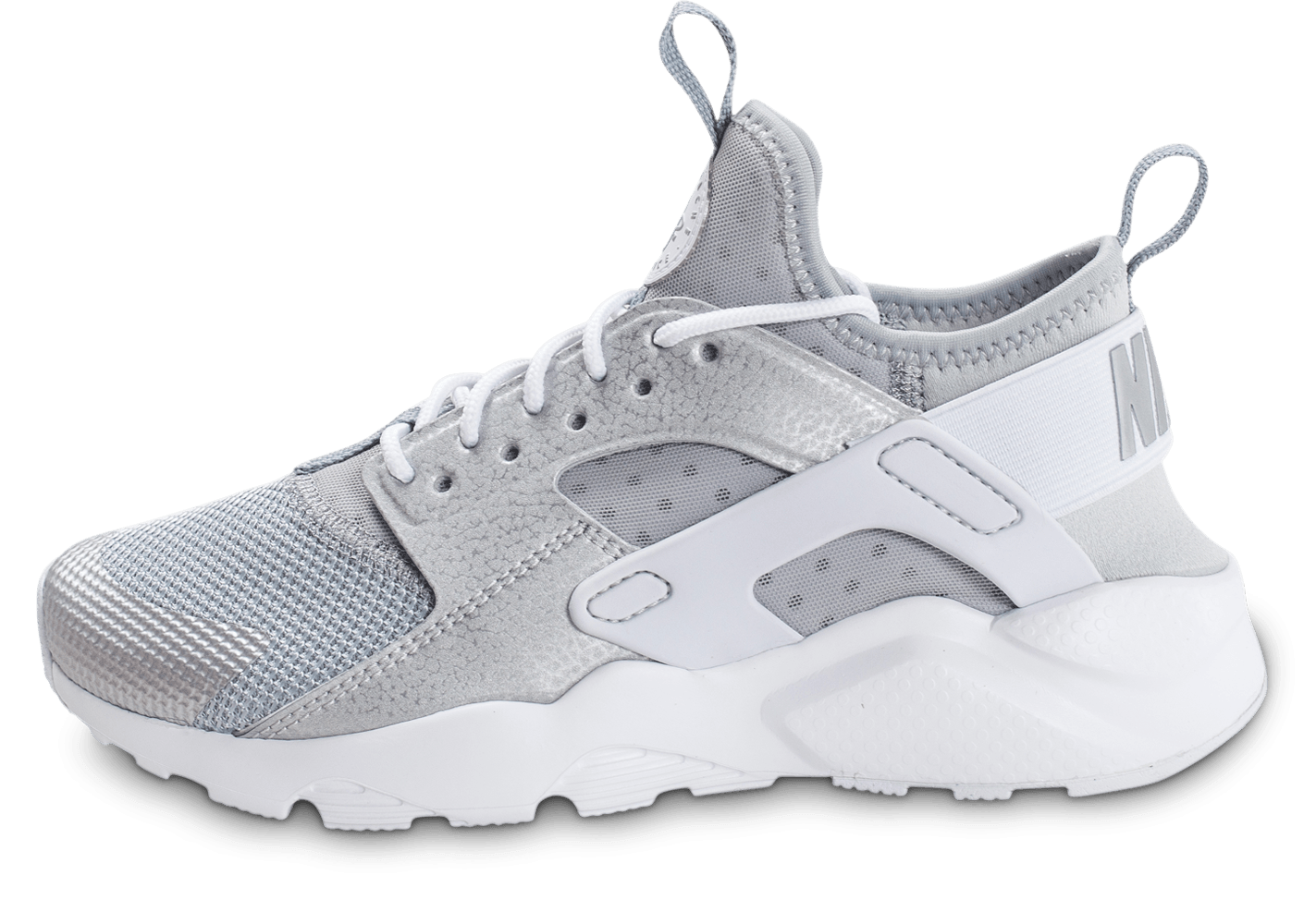 Nike Air Huarache Ultra Junior gris argenté