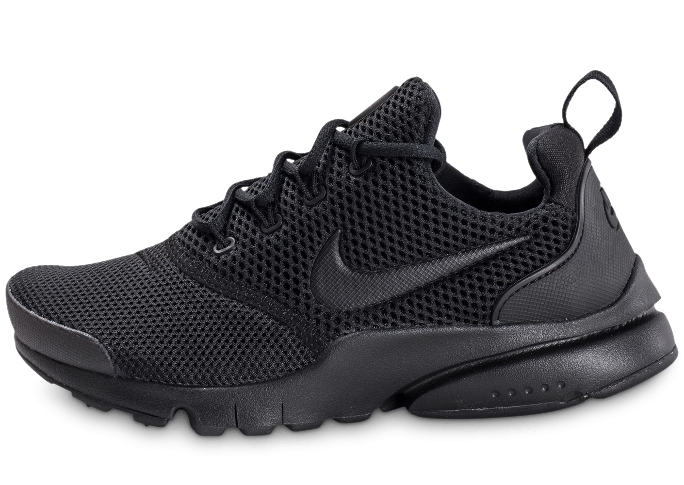 plus récent 6700c ff2af Nike Presto Fly Junior triple noir