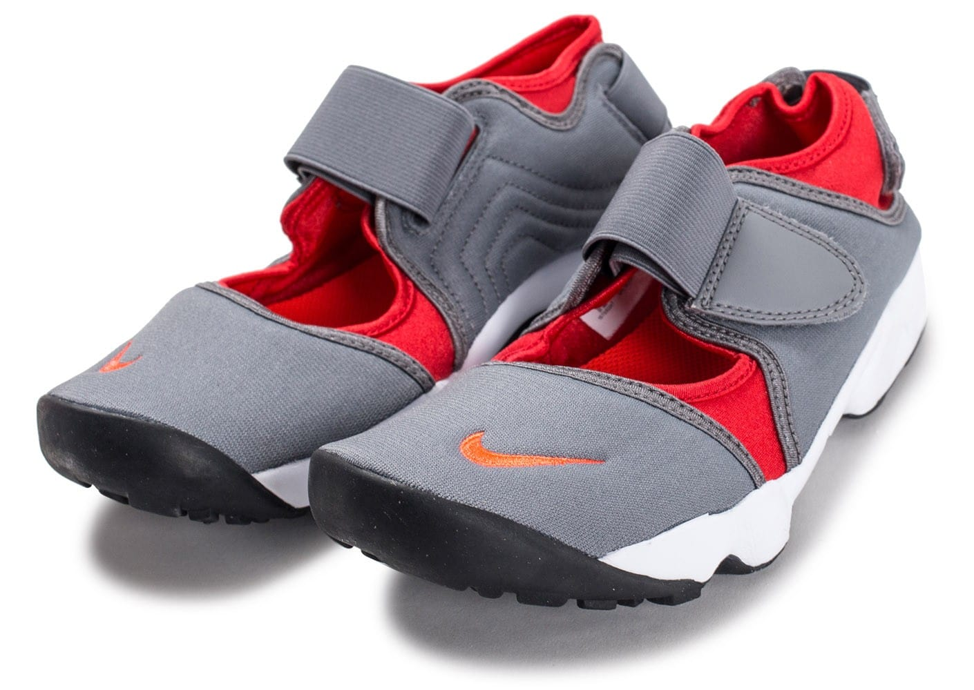the best attitude 9bf78 ae9b2 ... Chaussures Nike Rift Junior grise et rouge vue intérieure ...