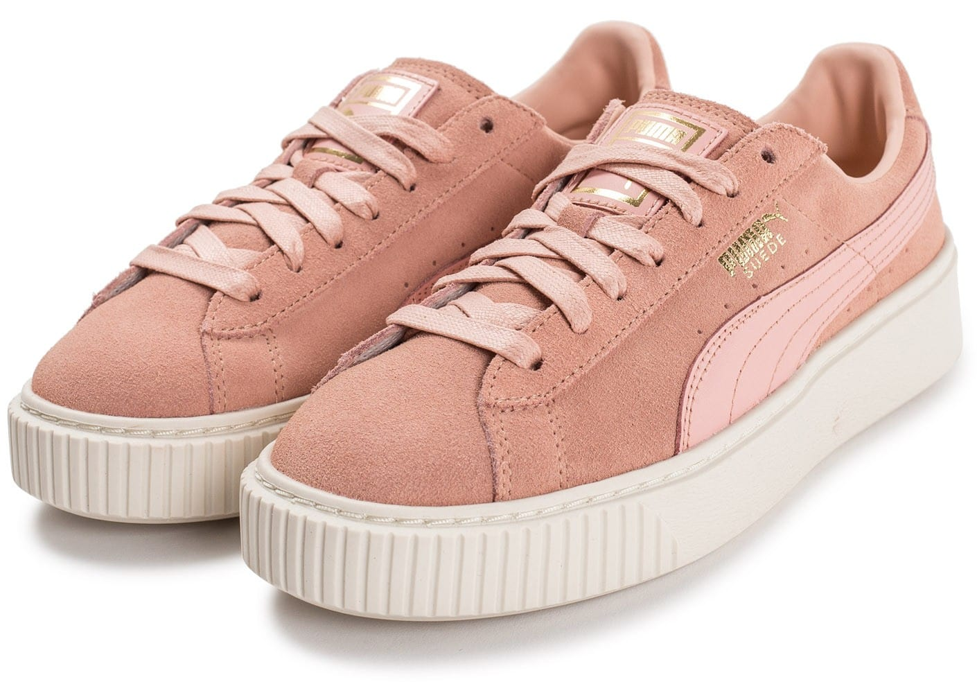 puma suede rose pale 36