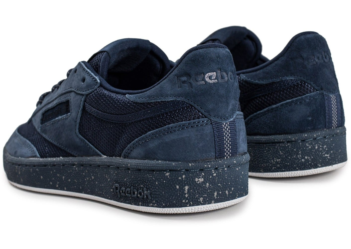 Reebok Baskets basses Club C 85 Bleu marine CdJFL