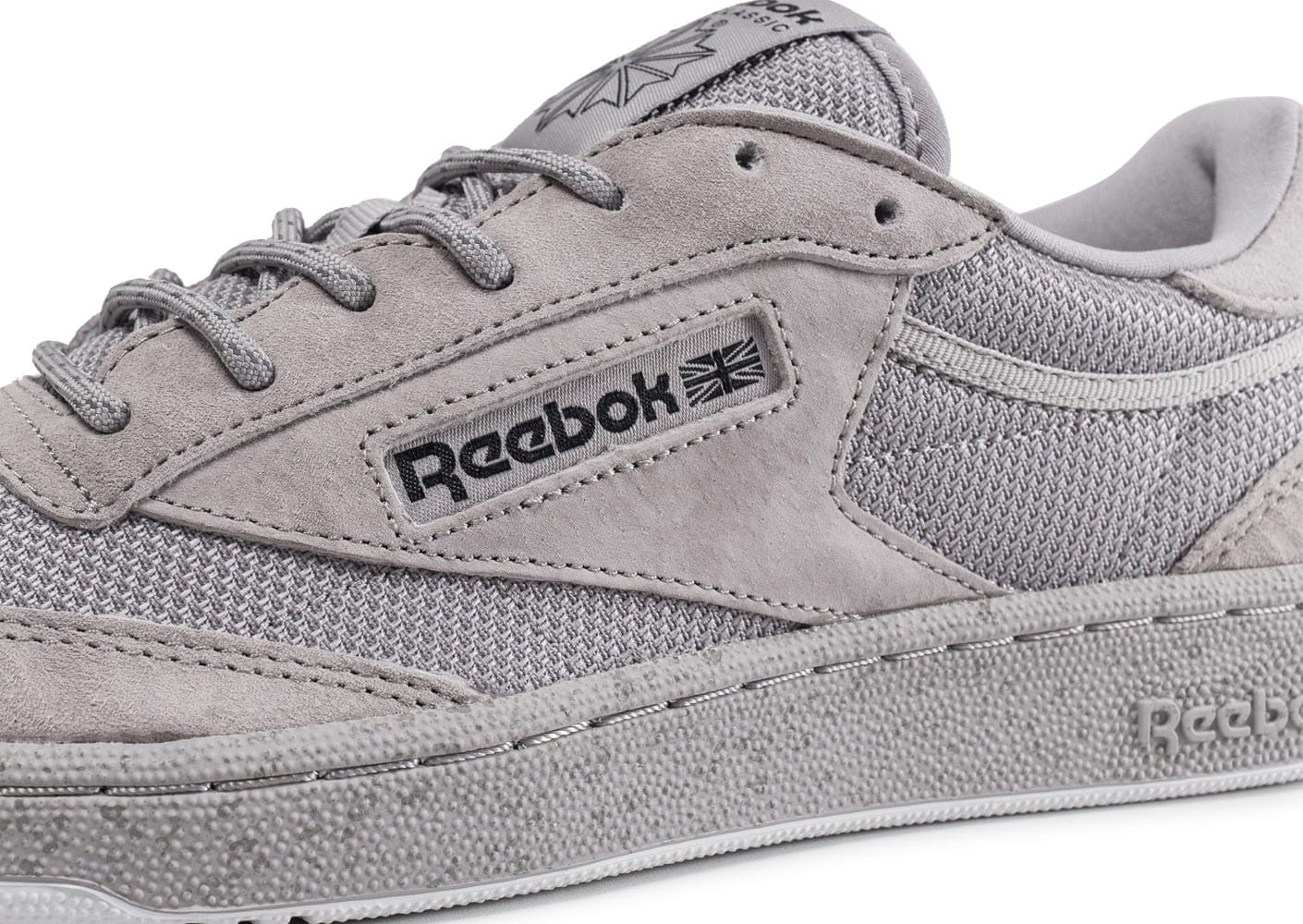 52eafe971db9 Reebok Club C 85 ST grise - Chaussures Baskets homme - Chausport