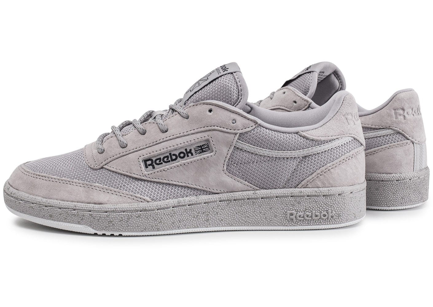 Chaussures Reebok grises homme