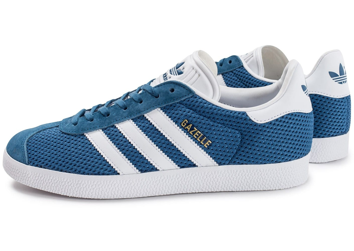 adidas Originals Gazelle Mesh e Bleu - Chaussures Baskets basses Homme