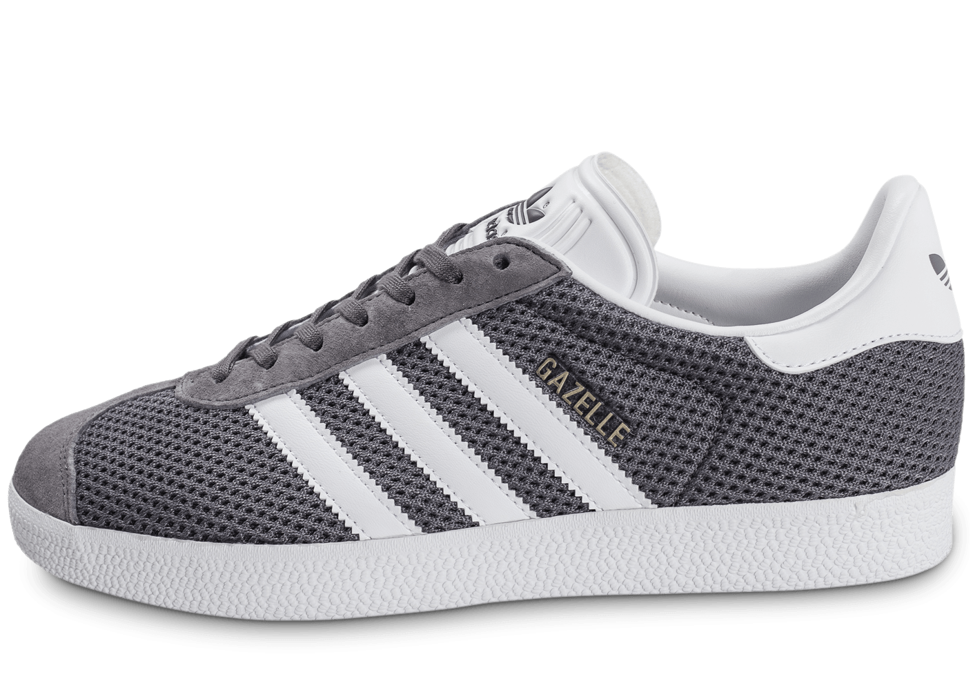 adidas gazelle mesh grise chaussures baskets homme chausport. Black Bedroom Furniture Sets. Home Design Ideas