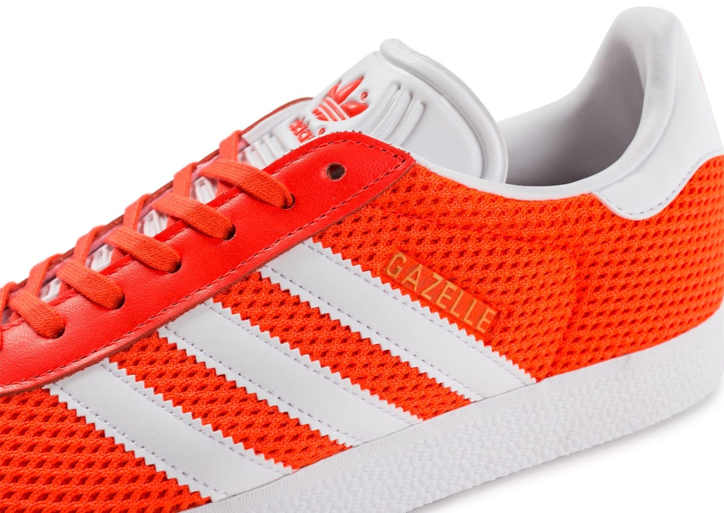 Gazelle Chaussures Mesh Baskets Homme Orange Chausport Adidas Z7IWXUO