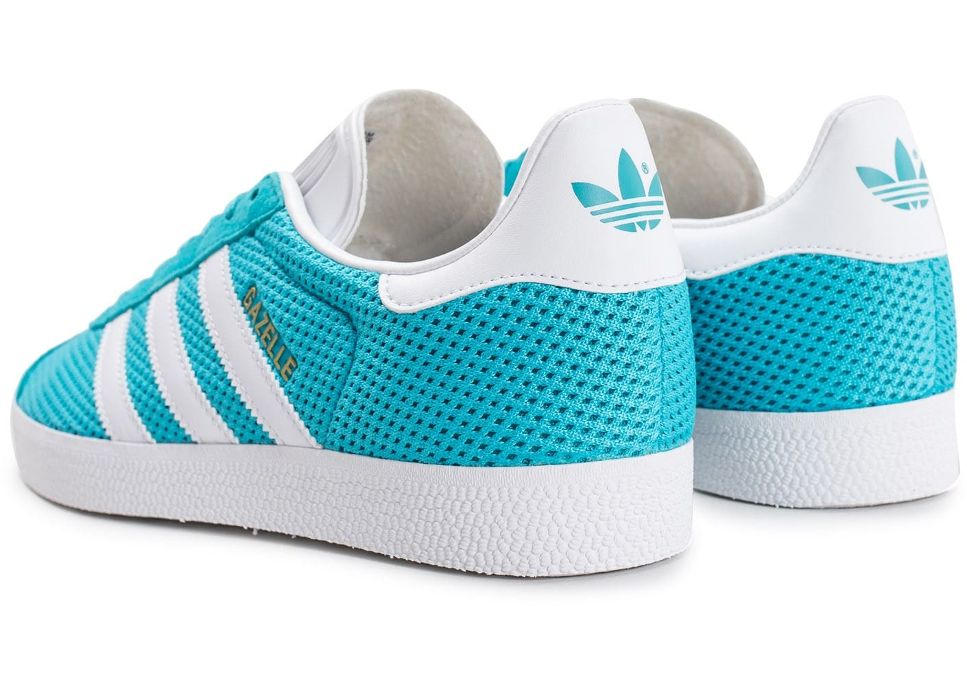 adidas Gazelle Mesh turquoise Chaussures Baskets homme