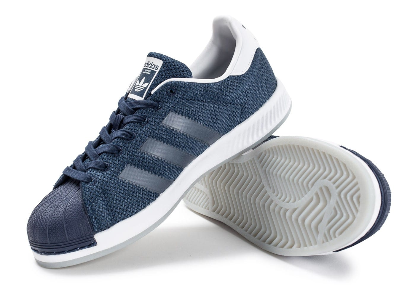 Snap adidas Superstar Superstar Superstar Bounce bleu marine Chaussures Homme Chausport 3b3ae2