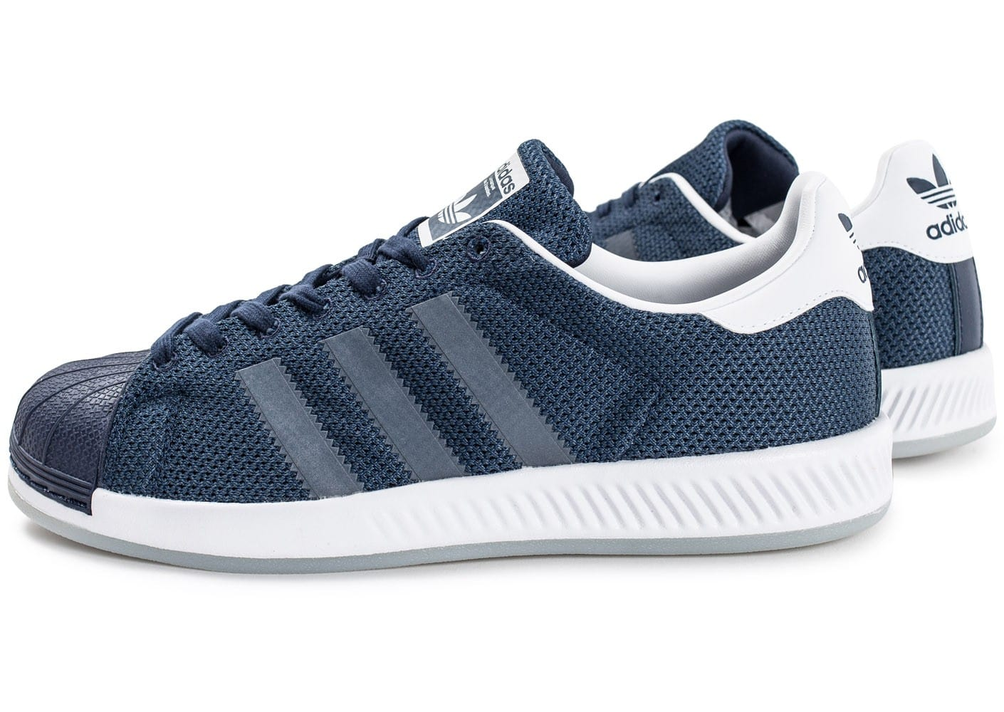 adidas Superstar Bounce bleu marine Chaussures Baskets