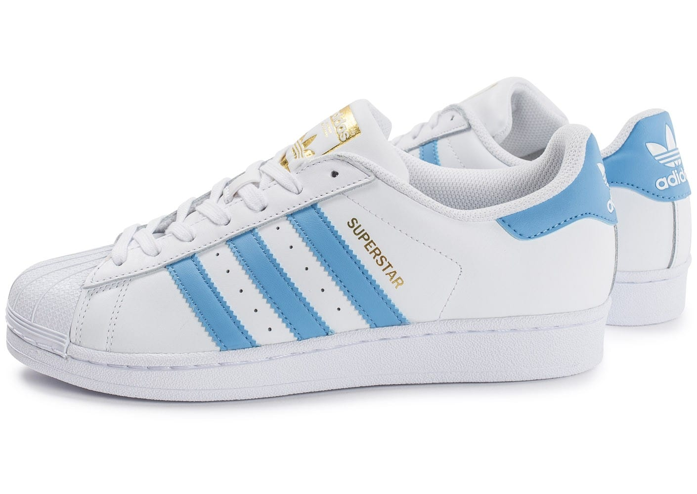 adidas superstar hommes blue