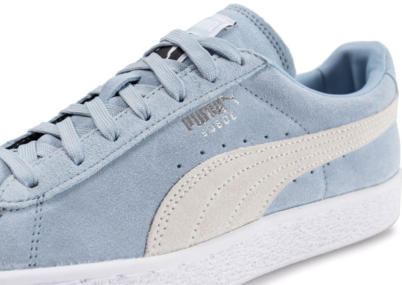 new concept 7528a 115ef Classic Fog Homme Baskets Blue Puma Chausport Suede Chaussures 5pTwxWqUH
