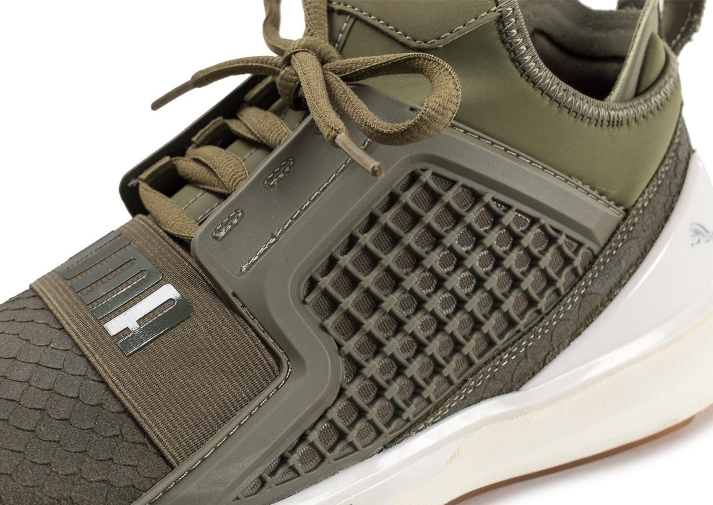 Baskets Limitless Reptile Homme Puma Olive Ignite Chaussures gSHxBX