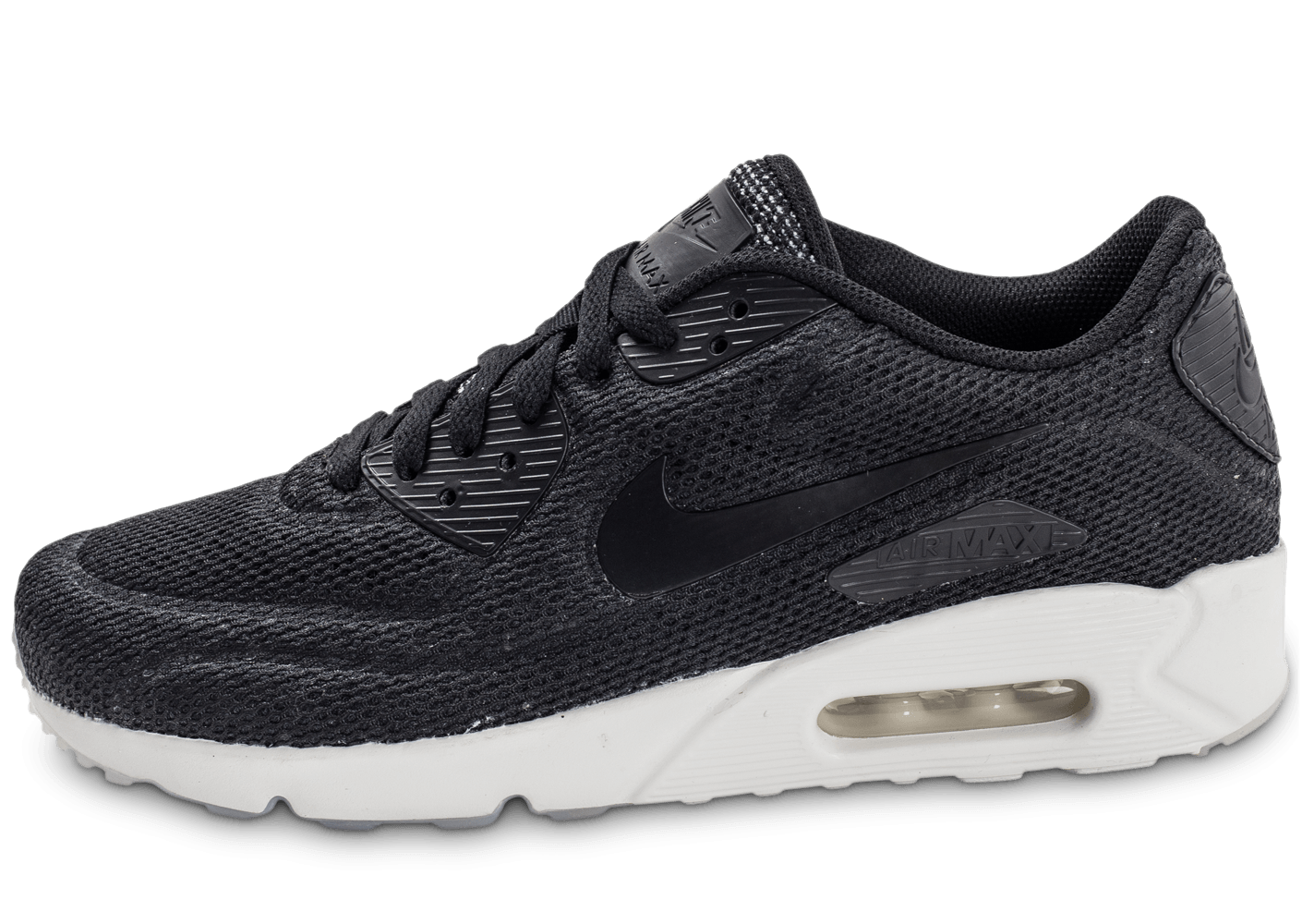 brand new bc04b 8db59 Nike Air Max 90 Ultra 2.0 Breeze noire - Chaussures Baskets homme -  Chausport