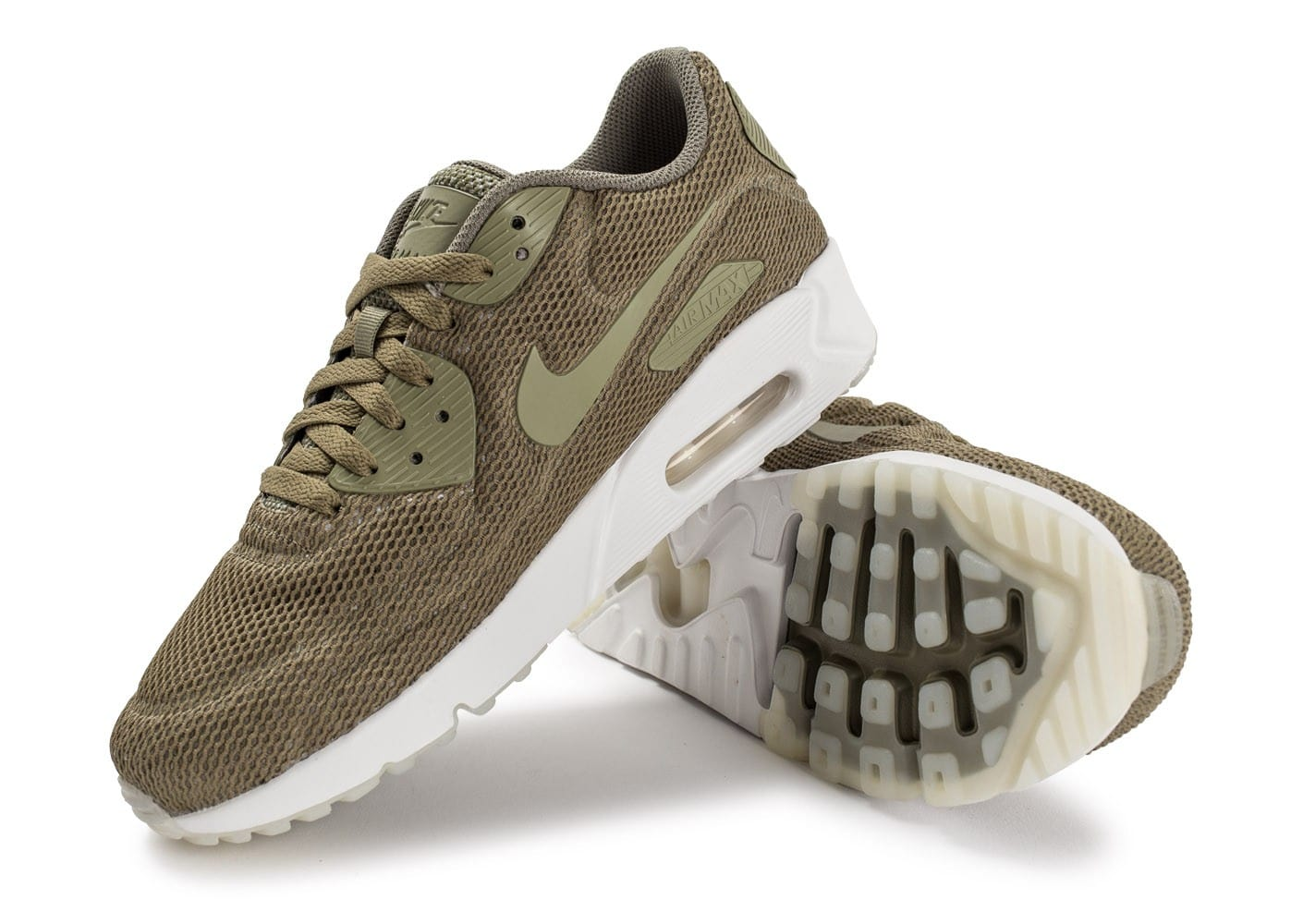 Nike Air Max 90 Ultra 2.0 Breeze kaki Chaussures Baskets