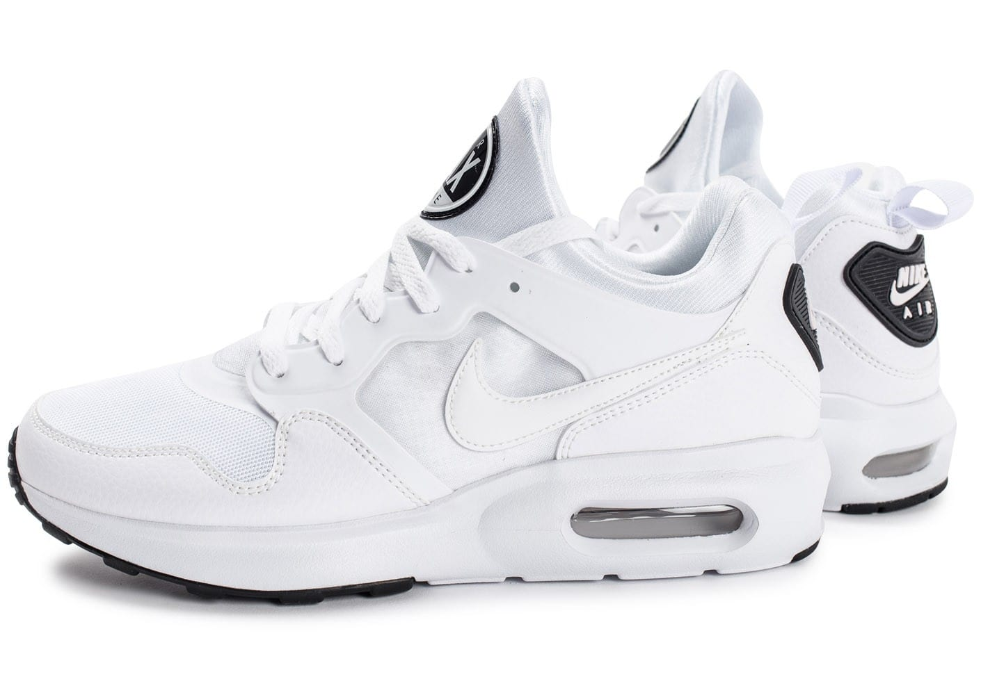 Chaussures Nike Air Max blanches Fashion homme INk157