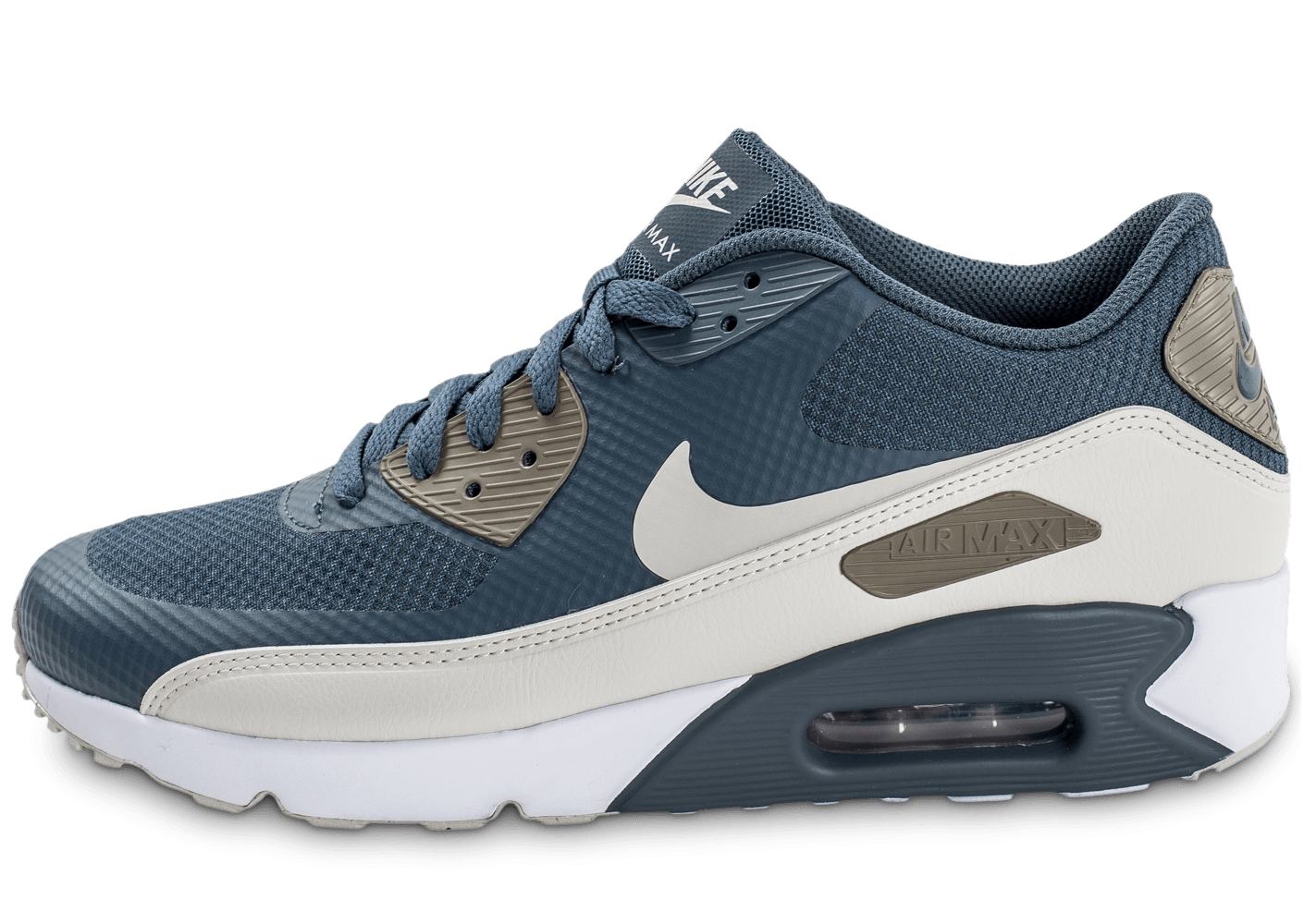 online store 32d32 5de8a Nike Air Max 90 Ultra Essential Blue Fox - Chaussures Baskets homme -  Chausport