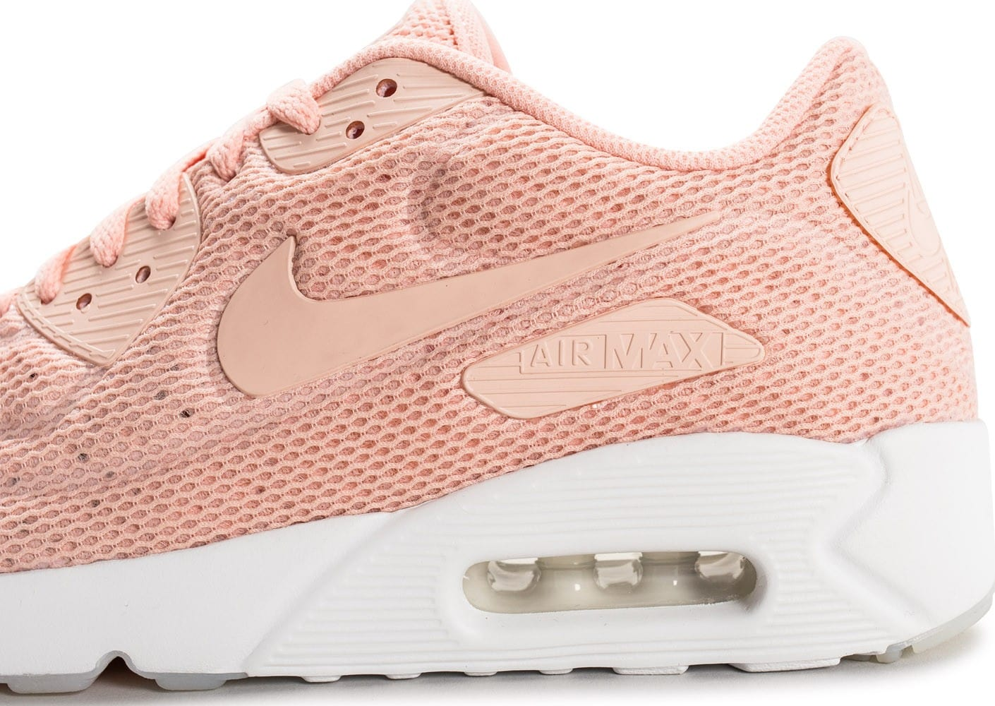timeless design 5879b 11ad2 ... Chaussures Nike Air Max 90 Ultra 2.0 Breeze Arctic orange vue dessus