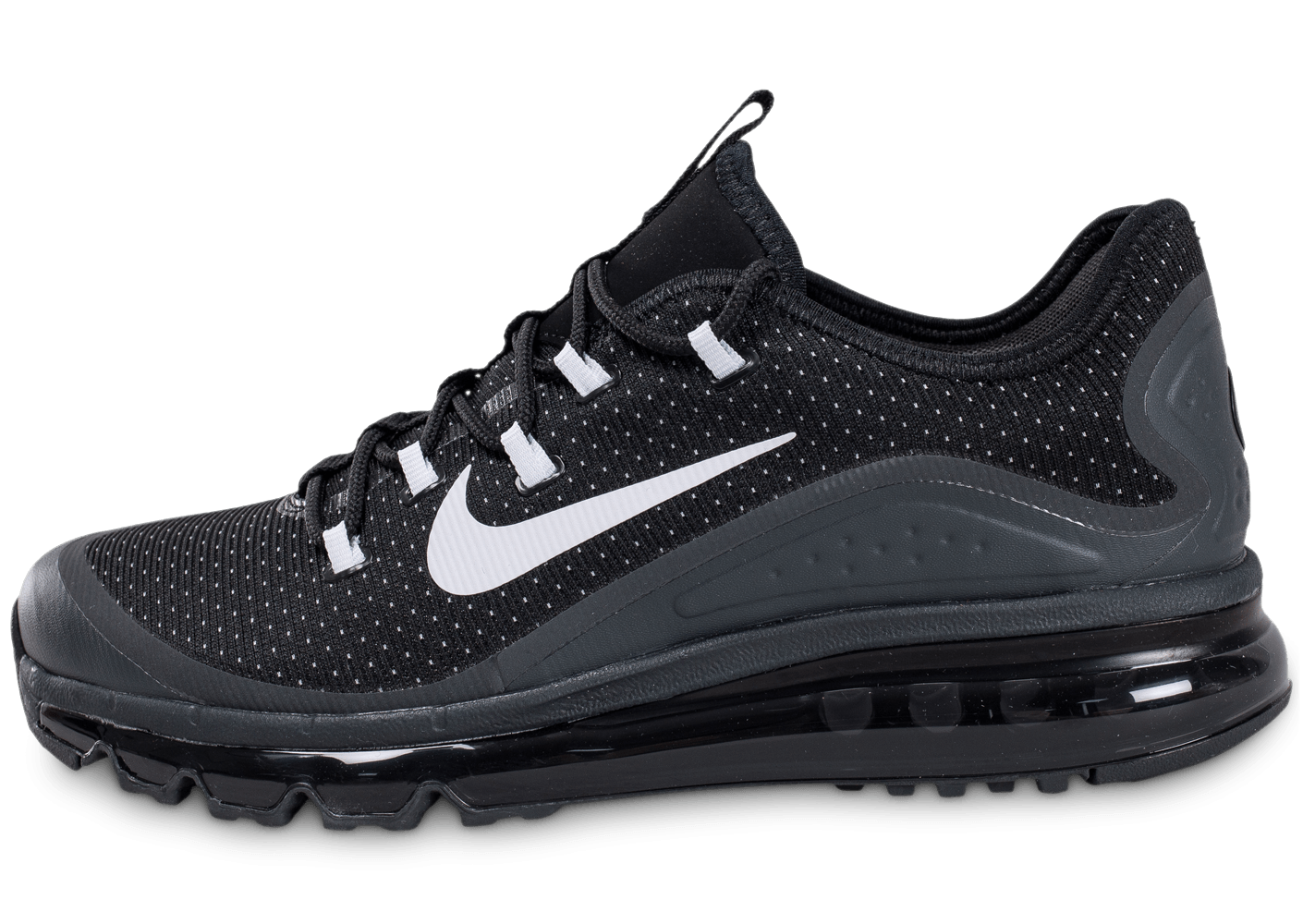 nike air max more noire chaussures baskets homme chausport. Black Bedroom Furniture Sets. Home Design Ideas