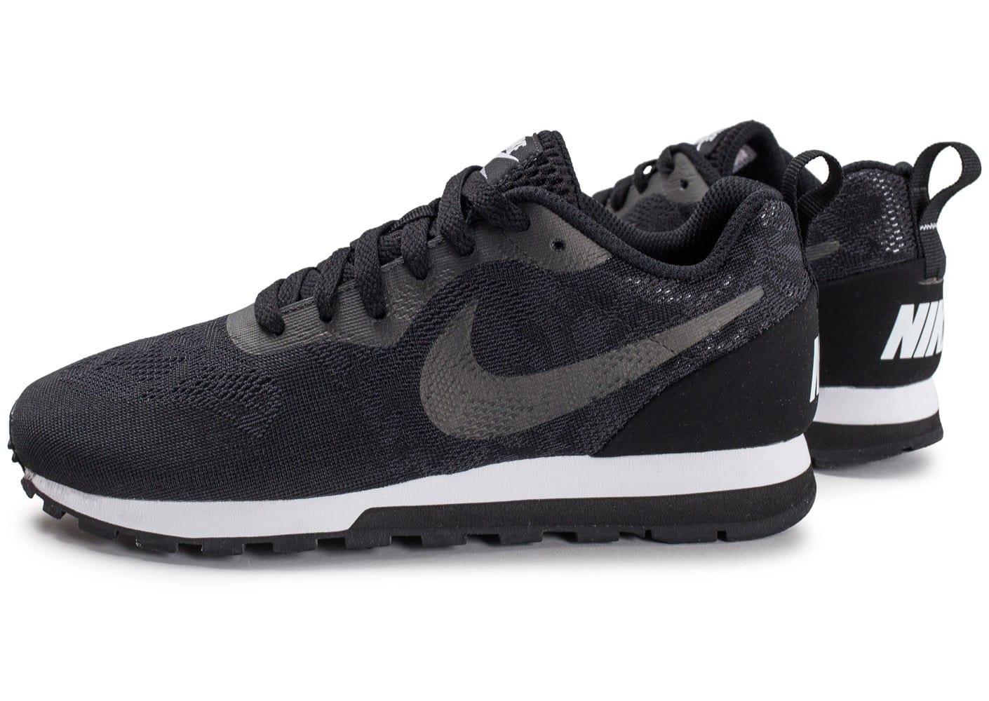 Nike MD Runner 2 Breathe noire Chaussures Baskets homme