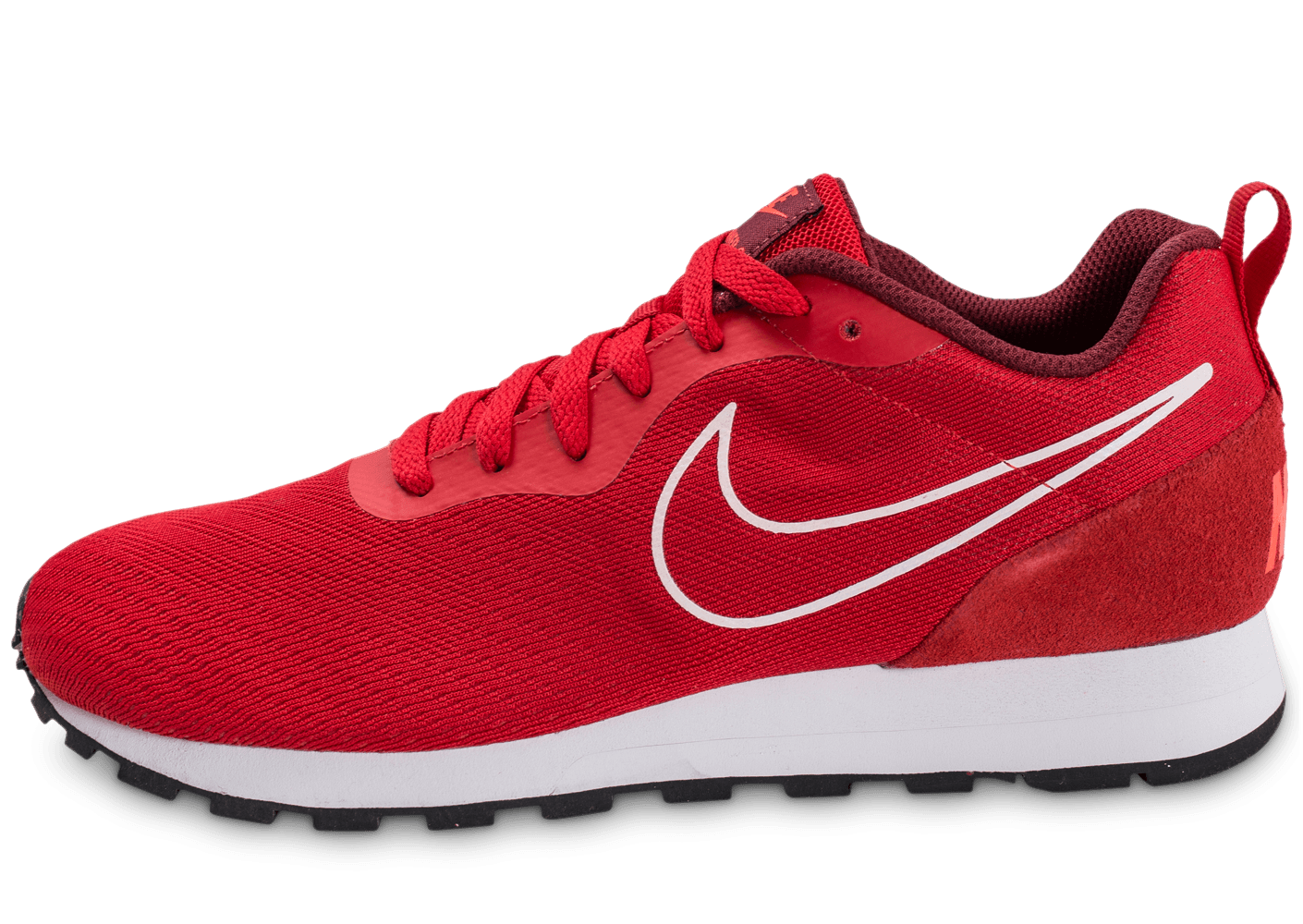 a8d2a5d2af00 Nike MD Runner 2 Breathe rouge - Chaussures Baskets homme - Chausport