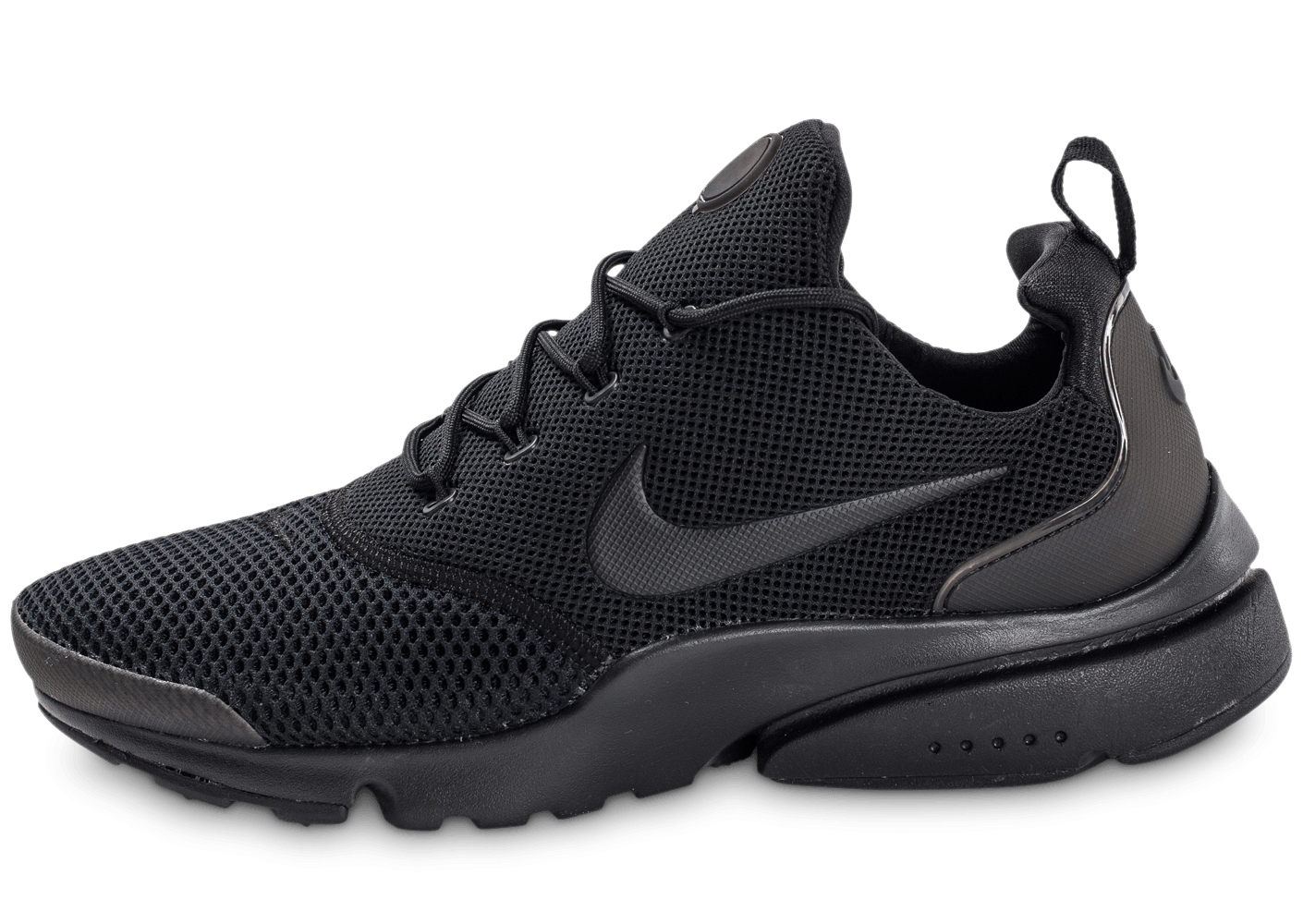 info for 878f6 0f9b5 Nike Presto Fly triple noir - Chaussures Baskets homme - Chausport
