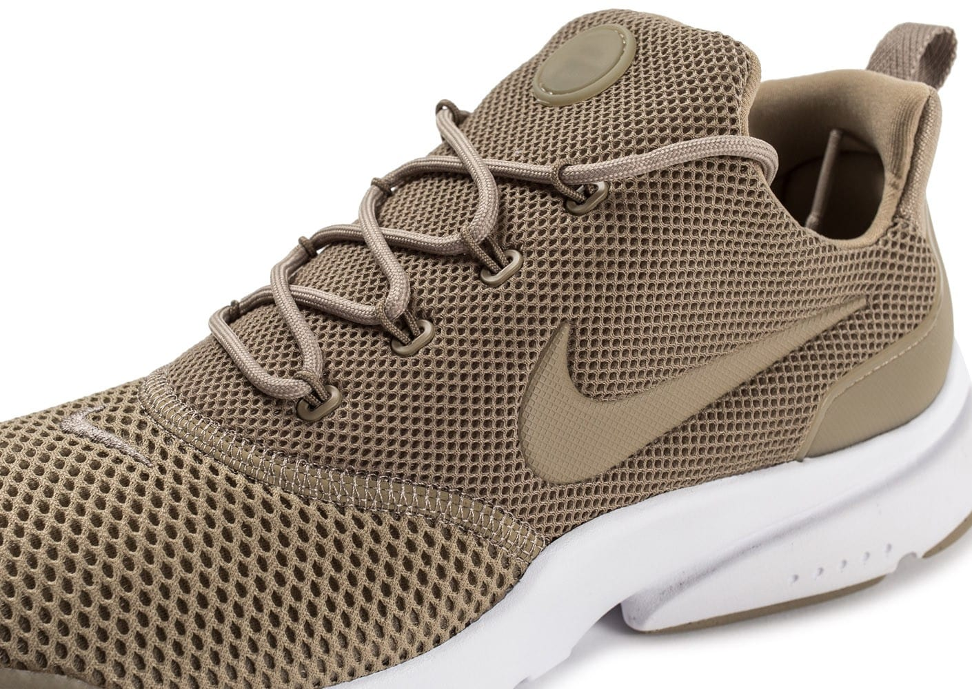 the best attitude e34d9 28a3c ... Chaussures Nike Presto Fly Khaki vue dessus