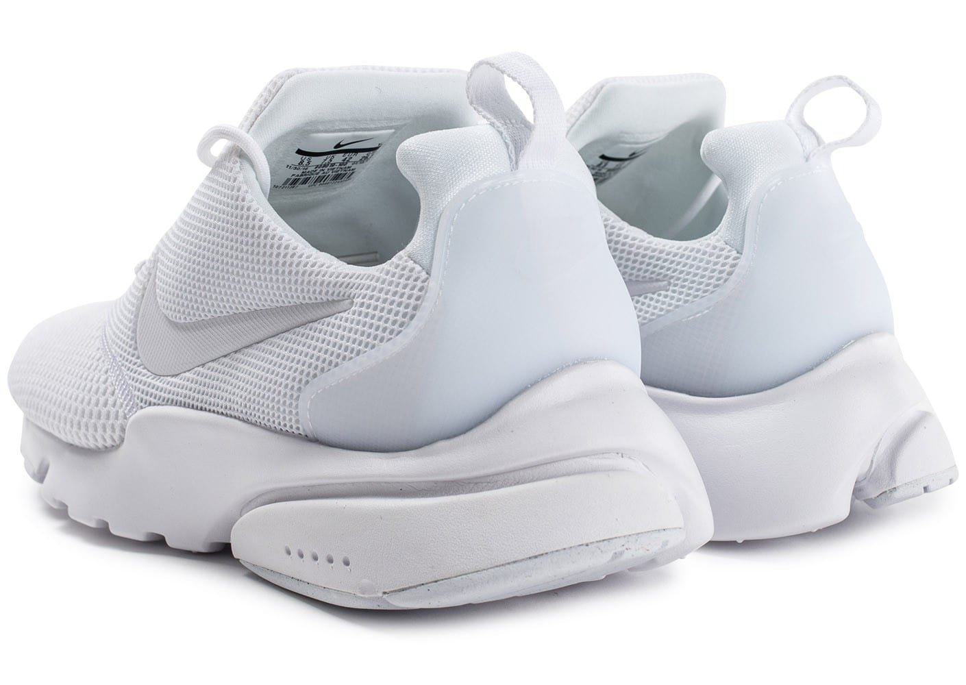 Nike Presto Fly triple blanc Chaussures Baskets homme