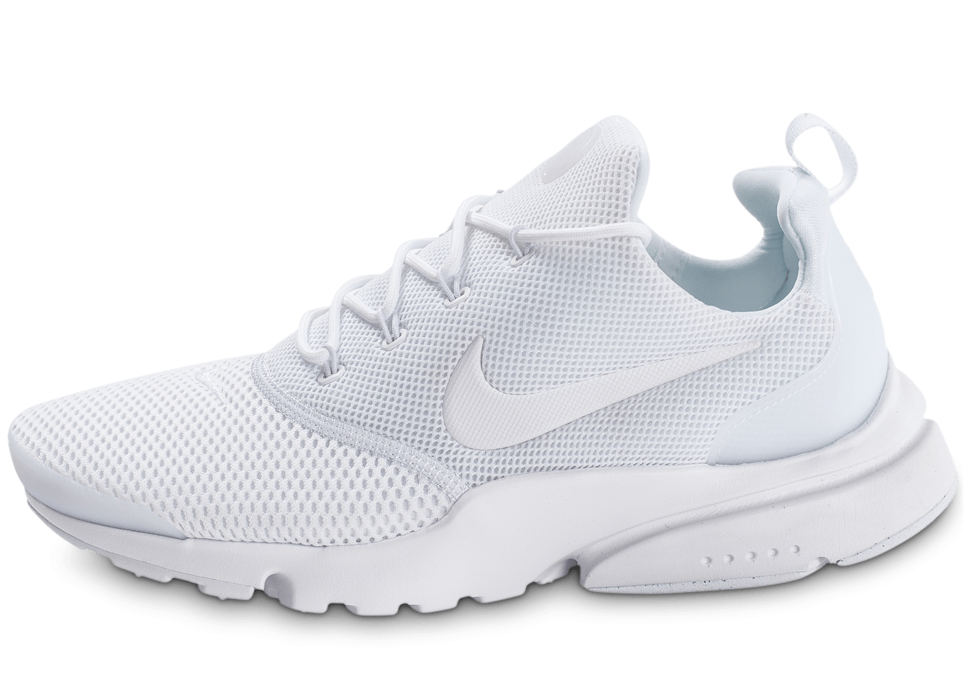 official photos 2fe30 4b56c Nike Presto Fly triple blanc - Chaussures Baskets homme - Chausport