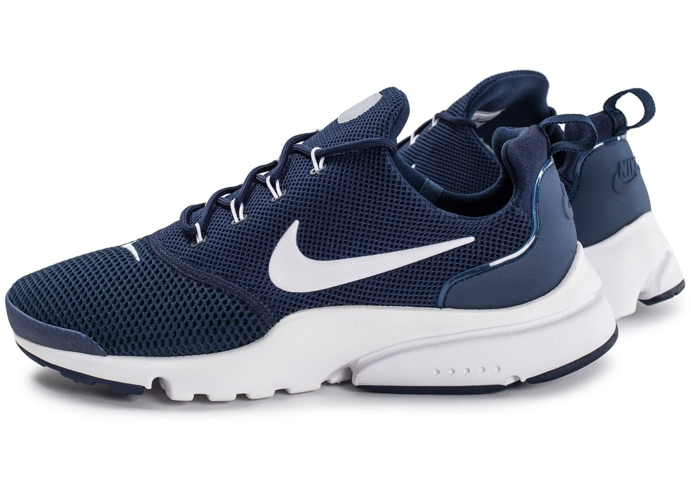 new specials pretty cheap another chance Nike Presto Fly bleu marine - Chaussures Baskets homme ...