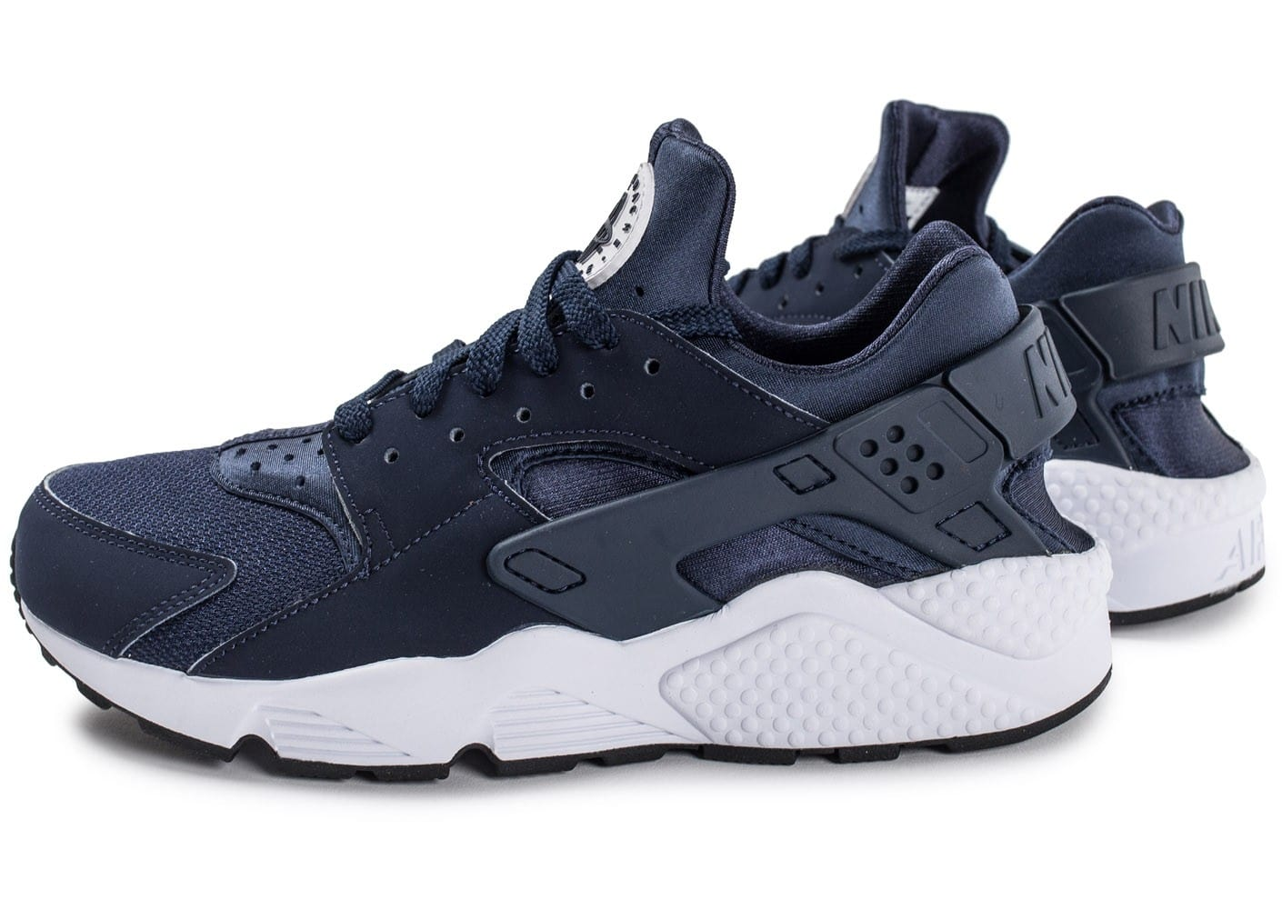 good service limited guantity various design Nike Air Huarache bleu marine - Chaussures Baskets homme ...